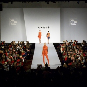 Fashion show, AKRIS, Saks fifth Avenue, Advanced Productions